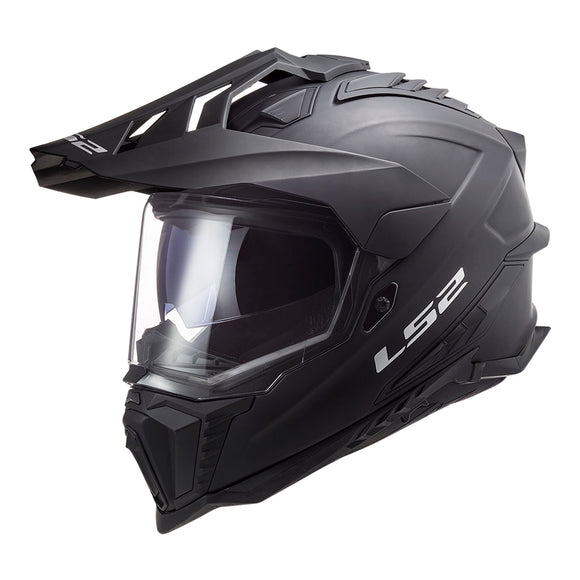 LS2 MX701 EXPLORER HELMET - MATTE BLACK