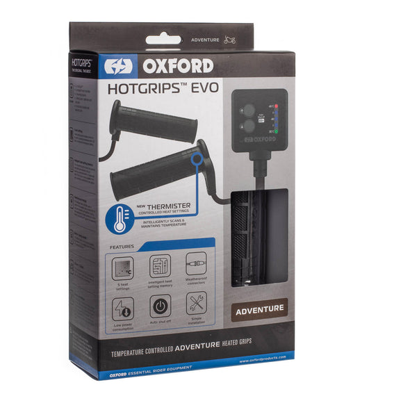 OXFORD *EVO* HOT GRIPS ADVENTURE - V9 THERMISTER SWITCH