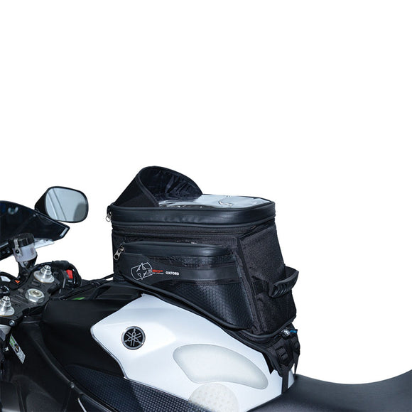 OXFORD S20R STRAP ON ADVENTURE TANK BAG BLK