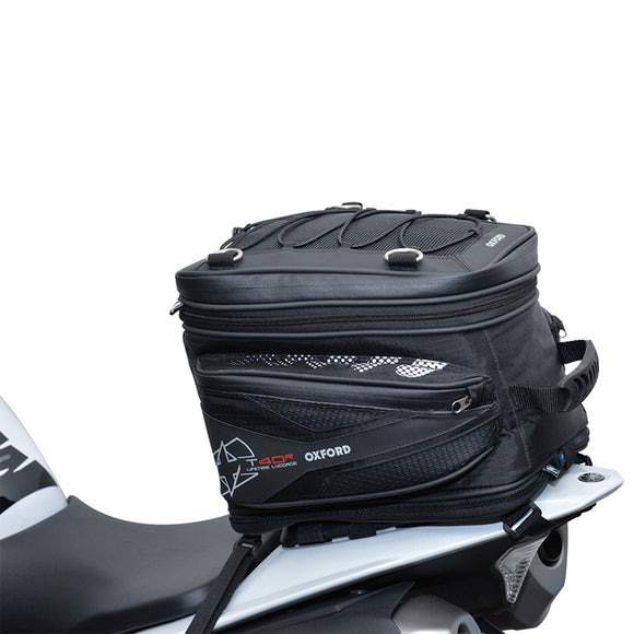 OXFORD T40R TAIL PACK BLK