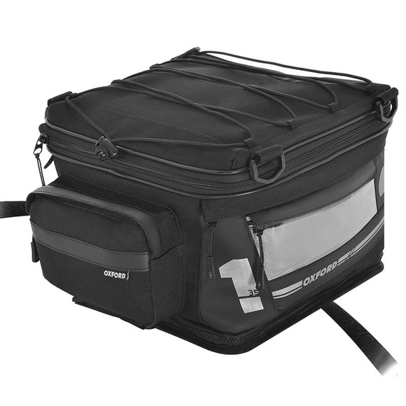 OXFORD F1 LUGGAGE T35 TAIL PACK BLK