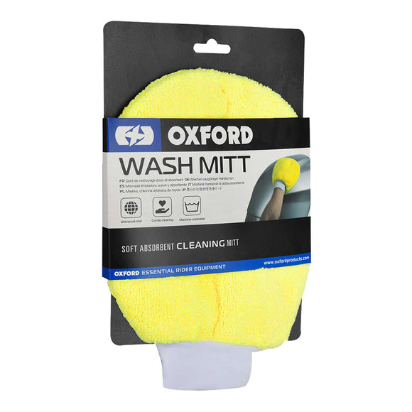 OXFORD WASH MITT SPONGE YEL