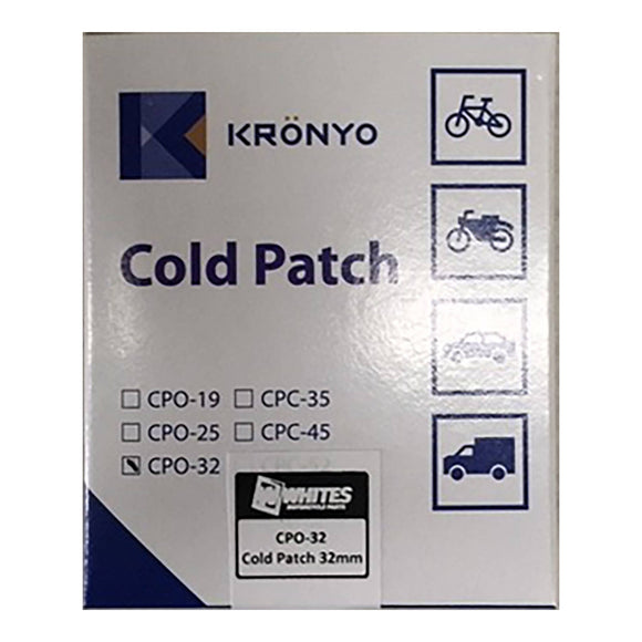 KRONYO REPAIR PATCHES - 32mm ROUND   96pcs/box