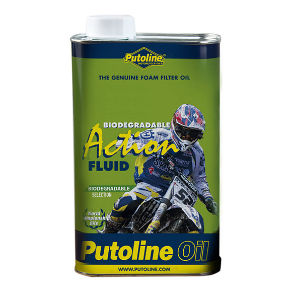 PUTOLINE BIO ACTION AIR FILTER OIL 1LT (70030) *12