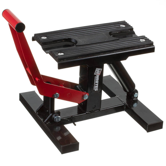 WHITES MX LIFT STAND - (HEIGHT ADJ. & HYDRAULIC DAMPER)