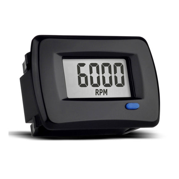 TRAIL TECH TTO PANEL - TACH / HOUR METER - BLK