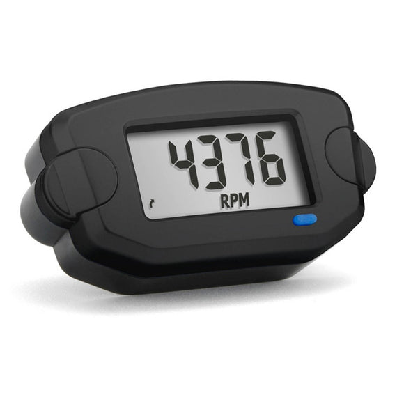 TRAIL TECH TTO - TACH / HOUR METER - BLK
