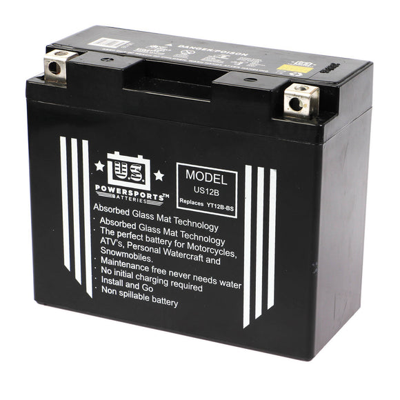 USPS AGM BATTERY US12B   YT12B-BS *8