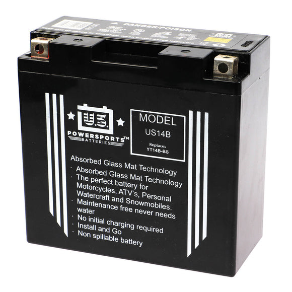 USPS AGM BATTERY US14B  YT14B-BS  *8