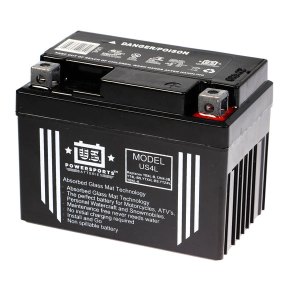 USPS AGM BATTERY US4L     YB4L-B  *10