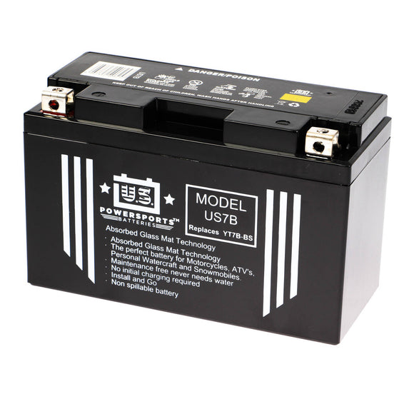 USPS AGM BATTERY US7B   YT7B-BS  *10