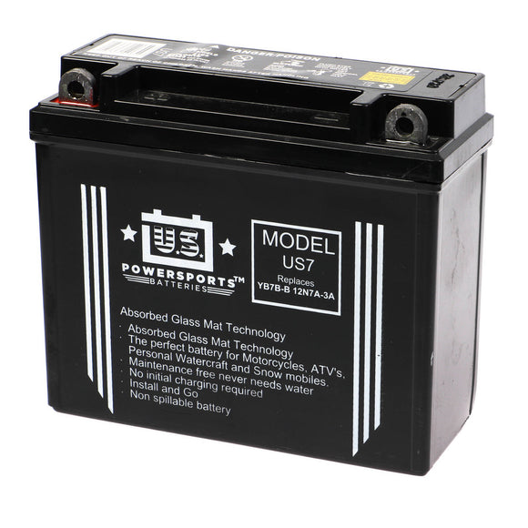 USPS AGM BATTERY US7    YB7B-B  *10