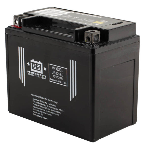 USPS AGM BATTERY USX12-BS    YTX12-BS *4