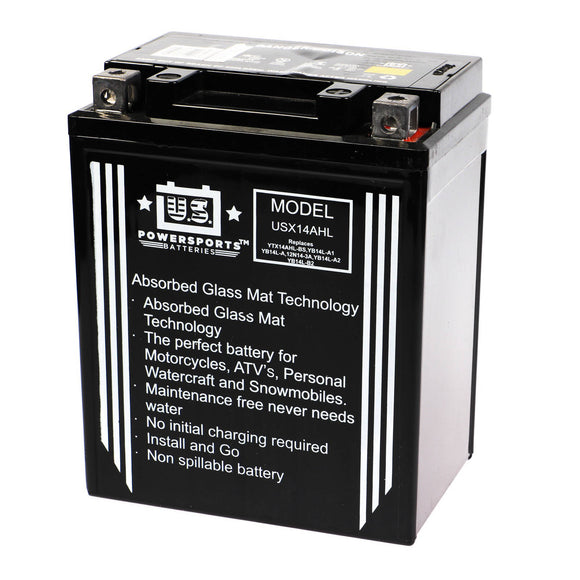 USPS AGM BATTERY US14AHL-BS    YB14L-A2  *4