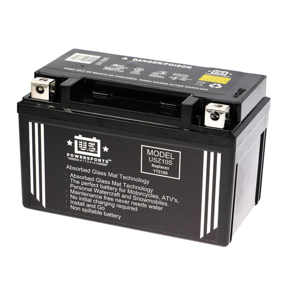 USPS AGM BATTERY USZ10S   YTX7A-BS *10
