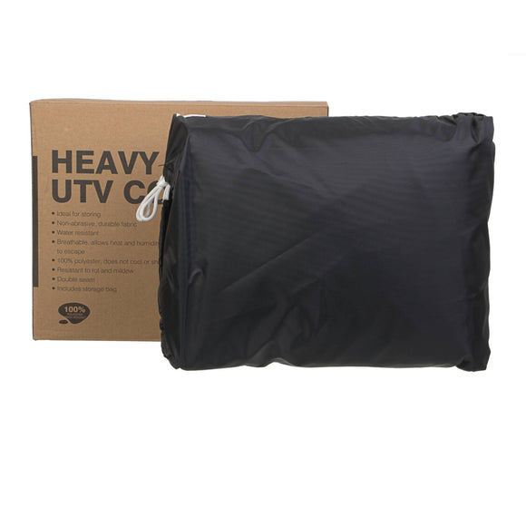 WHITES BIKE COVER EXTREME - L UTV BLK