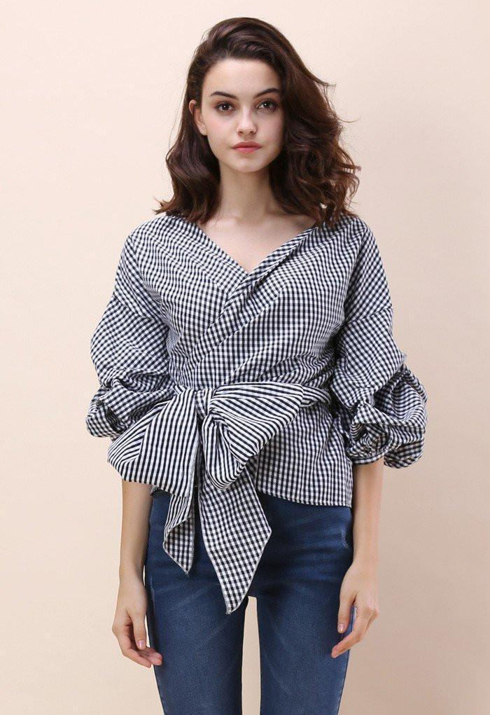 Rey - Puff Sleeve Blouse eotita-50-off-all-blouses-eotita