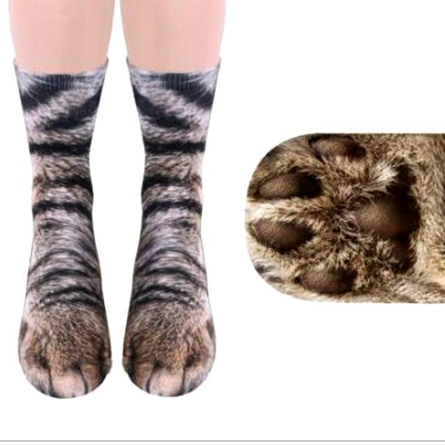ANIMAL PAW SOCKS (ONE SIZE FITS ALL)-eotita