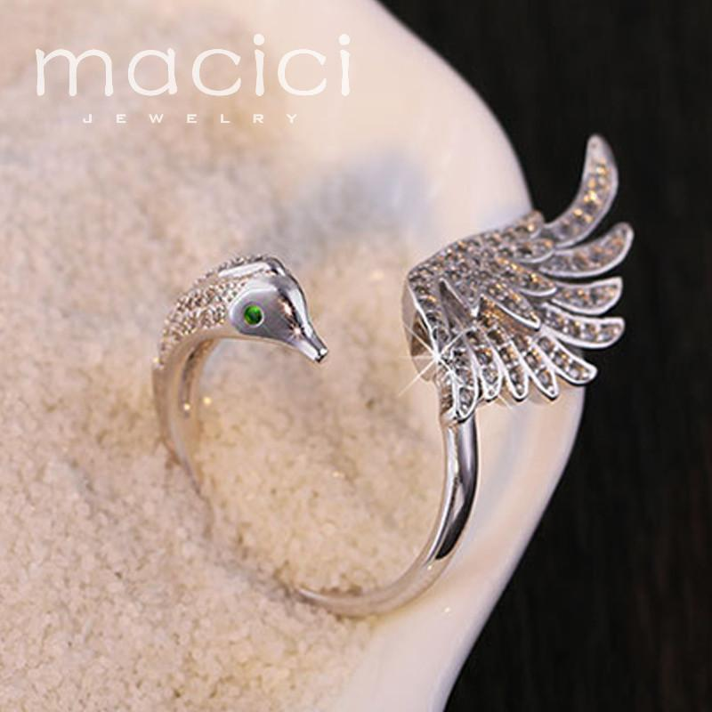 Swan Patronus Ring eotita-accessories-eotita