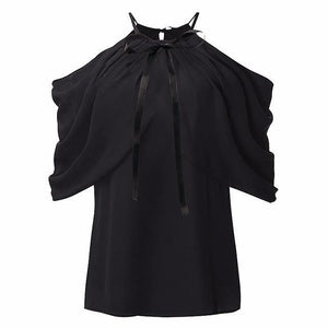 Gift - Bow-Knot Ruffle Blouse eotita-50-off-all-blouses-eotita