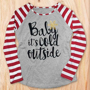 Baby It's Cold Outside Pullover Top eotita-apparel-eotita