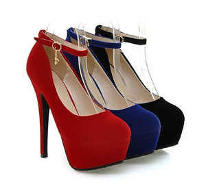 Ankle Strap Round Toe High Heels eotita-50-off-all-shoes-eotita