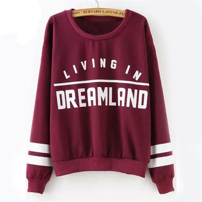 Living in Dreamland Jersey Sweatshirt eotita-apparel-eotita