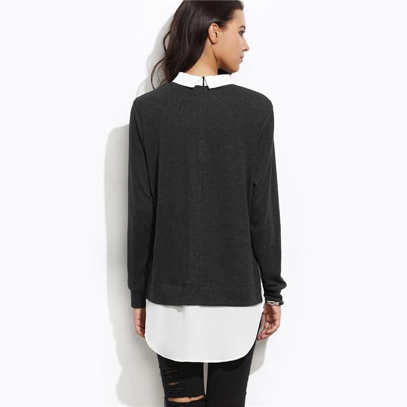 Casual 2 in 1 Color Block Pullover eotita-best-selling-sweaters-eotita