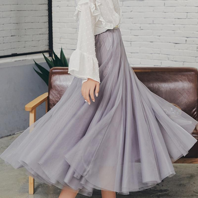 Bobbie - Three Layer Pleated Tulle Skirt eotita-bottoms-eotita