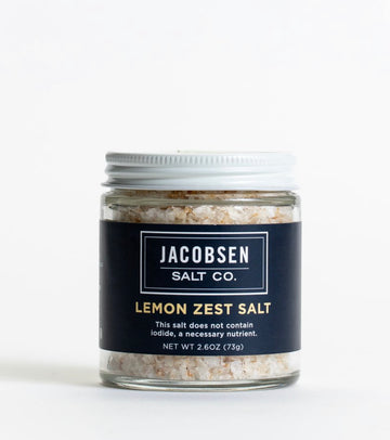 Lemon Zest Infused Sea Salt
