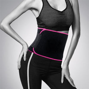 Adjustable Tummy Trimmer Sweat Belt