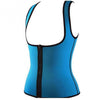 Waist Shaper Workout Vest With Zipper - Neoprene Made - SexyCurvesNow