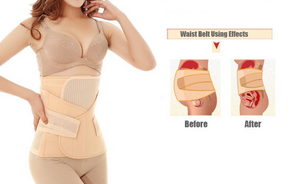 Luxe 3 in 1 Postpartum Belt & Wrap (Belly/Abdomen/Pelvis Belt)