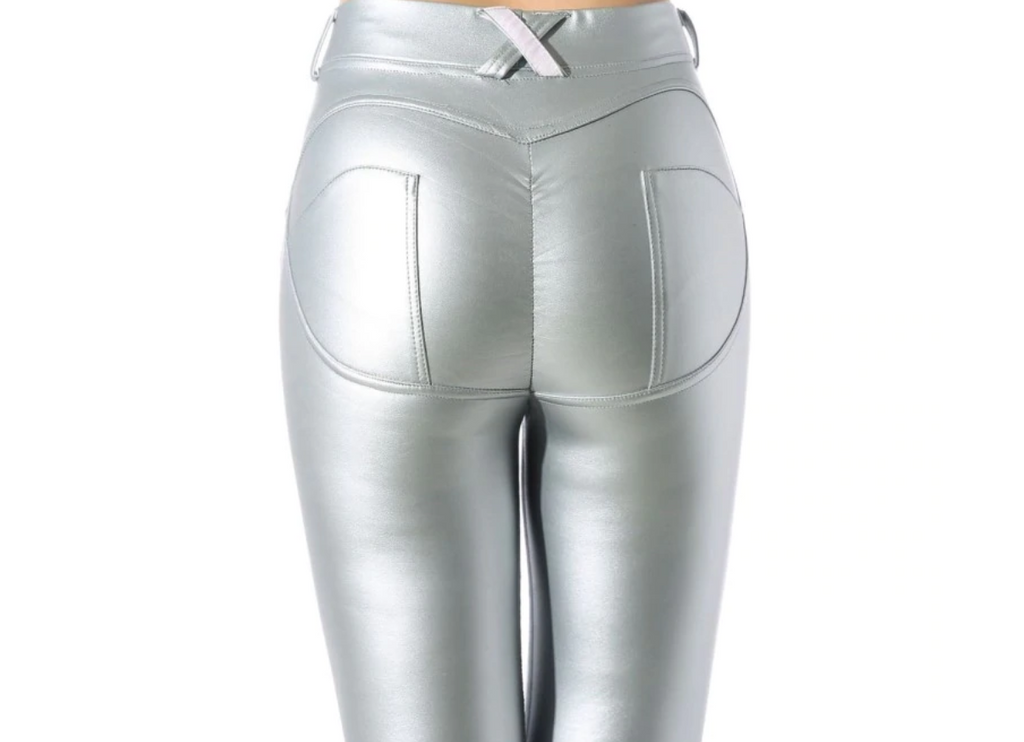 Low Waist Deluxe Leather Pants (Eco-Friendly) - SexyCurvesNow