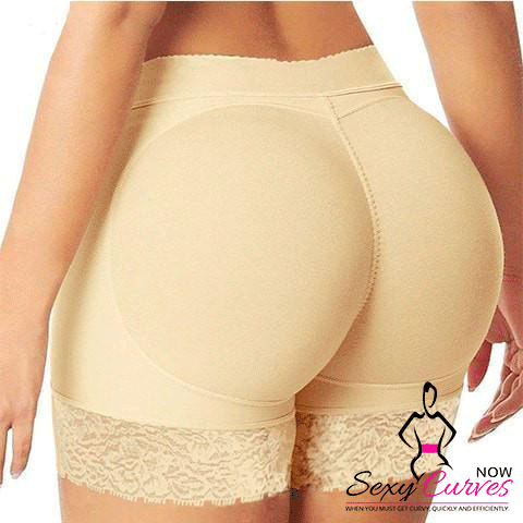 Deluxe Padded Butt Lifter and Enhancer Panty - SexyCurvesNow
