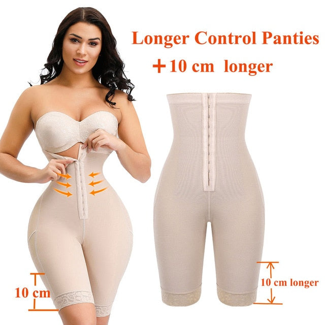 High Waist Trainer Body Shapewear with Tummy Control Panties - SexyCurvesNow