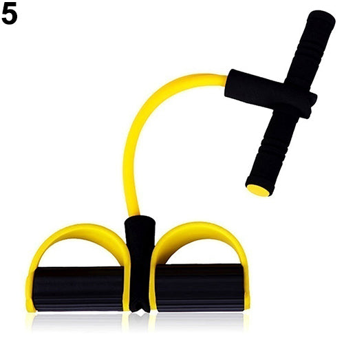 Fitness Elastic Sit Up Pull Rope Abdominal Exerciser Home Professional Sport Equipment - SexyCurvesNow
