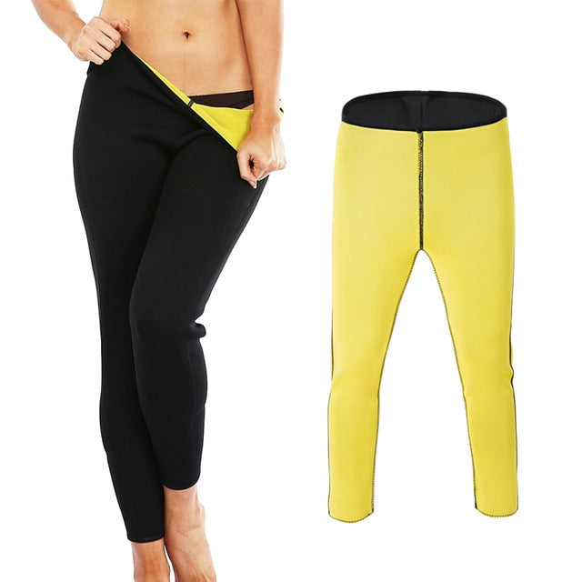 Weight Loss Nine Pants CFR Shapers Neoprene Body Shaper Women Slimming Pants - SexyCurvesNow