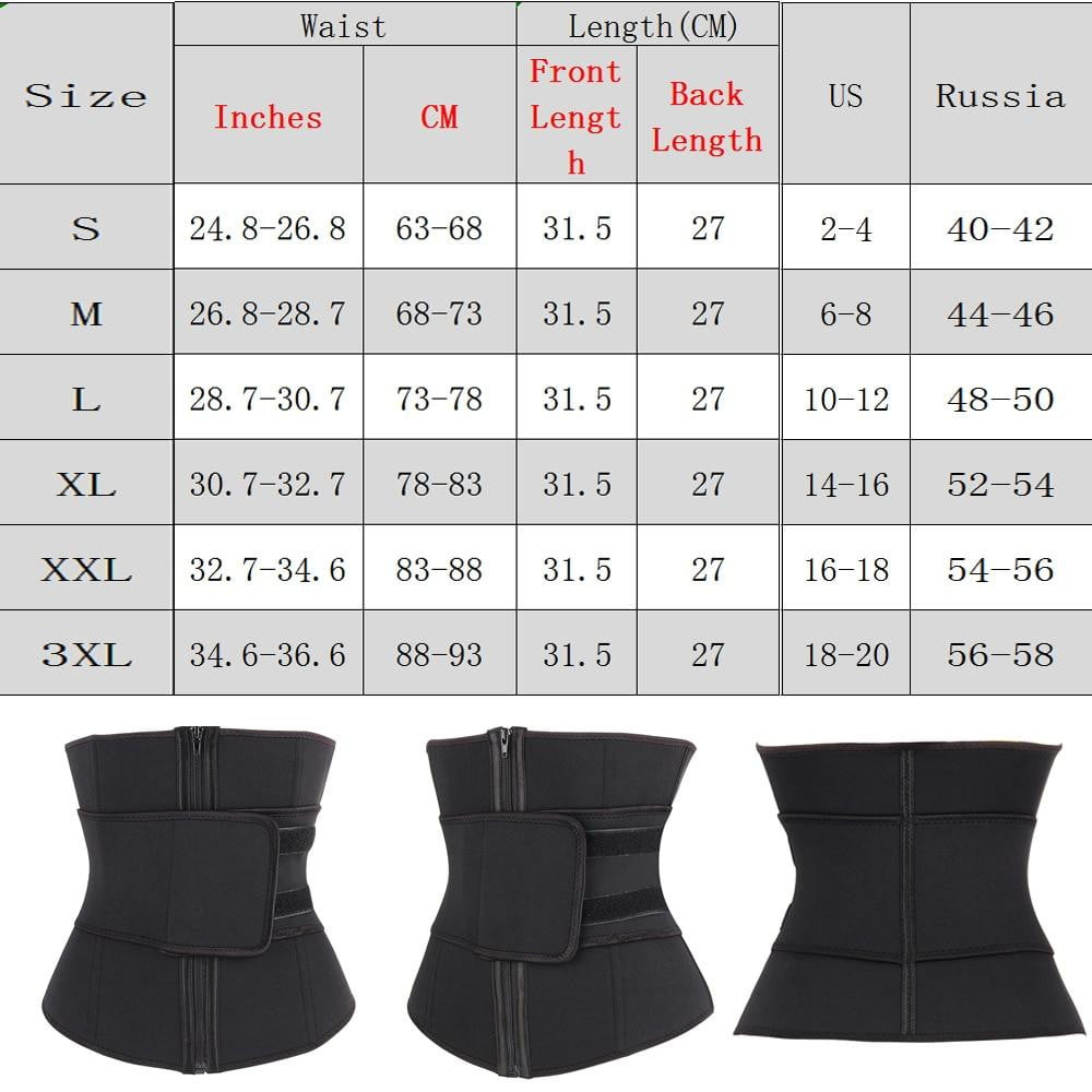 Abdominal Belt Steel Corset Body Sweat - SexyCurvesNow