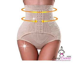 Waist Trainer + Tummy Control Panty and Butt Lifter - 3 in 1