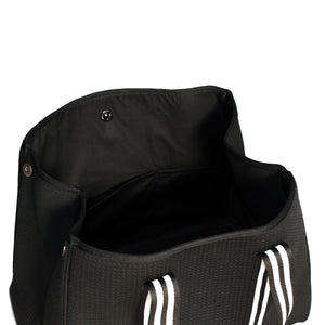 Aria (Black) Neoprene Tote Bag - neoprenebags