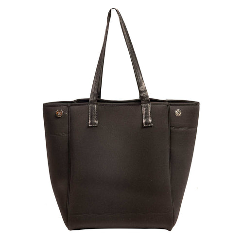 Ivy Neoprene Tote Bag Black - neoprenebags