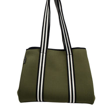 Aria (Khaki Green) Neoprene Tote Bag - neoprenebags