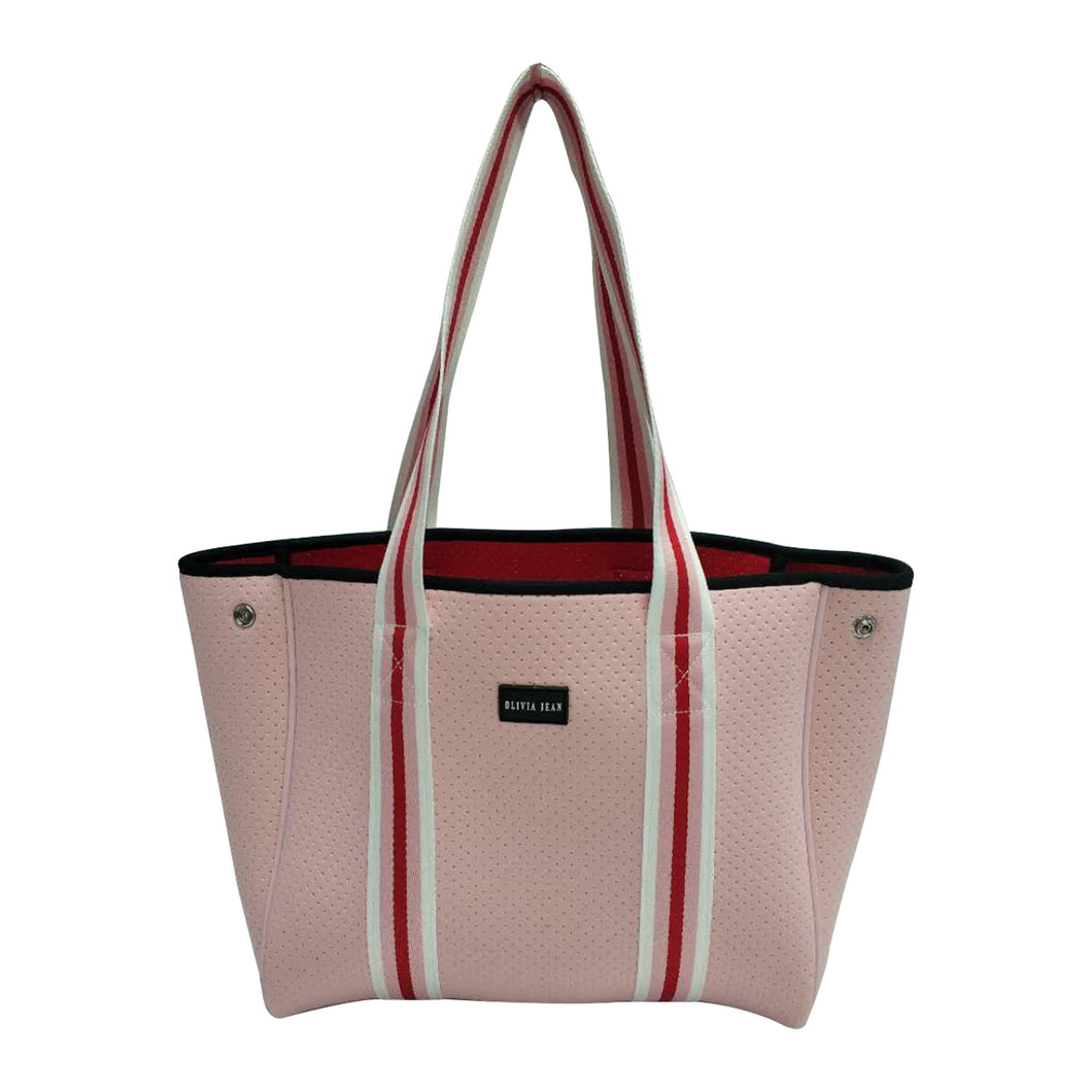 Rose (Pink) Girls Neoprene Tote Bag (PRE-ORDER)