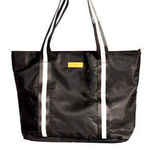 The New Yorker (Black) Tote Bag - neoprenebags