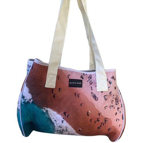 Bondi Beach Neoprene Tote Bag - neoprenebags