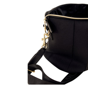 Brooklyn Backpack (Black) Nappy / Travel / Gym Bag - neoprenebags