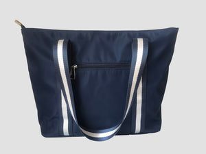 The New Yorker (Navy) Tote Bag - neoprenebags