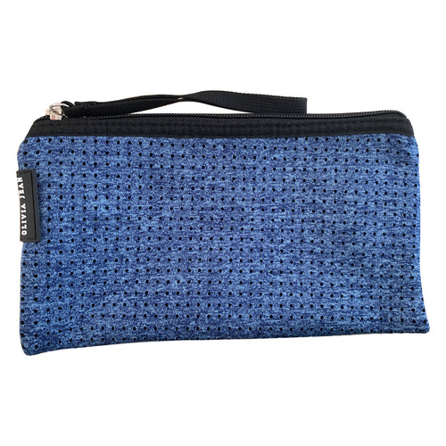 Marle Blue Neoprene Purse