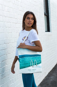 Bondi Icebergs Canvas Tote Bag - neoprenebags